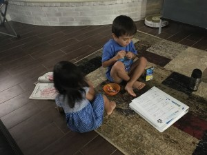 Why I'm Homeschooling My Child for Pre-K - Real Simple Mama image kids craft write