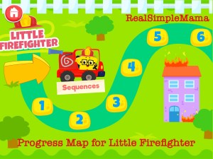 Review: Coding for Kids App by Kidlo - Real Simple Mama command sequence firefighter image play level game child
