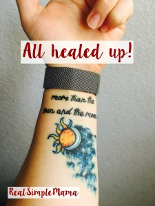 Getting Tattoos When You Have Kids - Real Simple Mama
