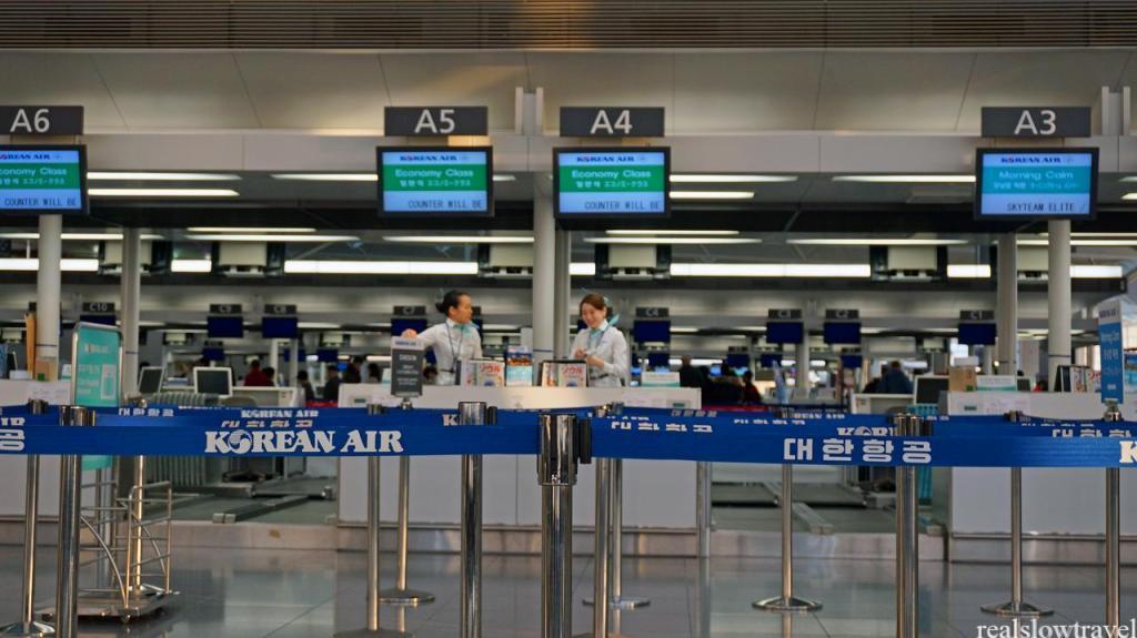 セントレア 大韓航空カウンター