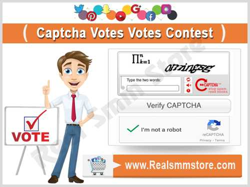 Buy Real Captcha Votes