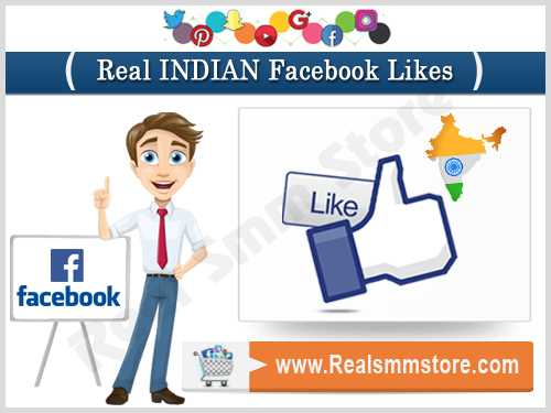 Real Indian Facebook Likes