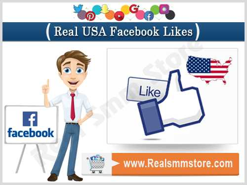 Real USA Facebook Likes