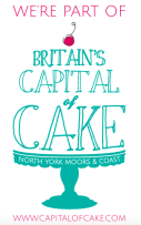 Capital of Cake logo part of it