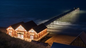 Saltburn Pier at night - Colin Carter