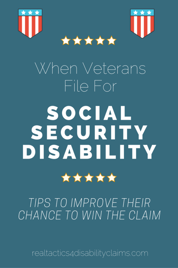 When Veterans file for Social Security Disability it can be challenging. Find out what it takes to improve your chances of winning your disability claim