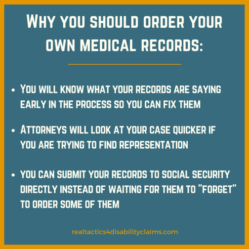 Why you should submit your medical records