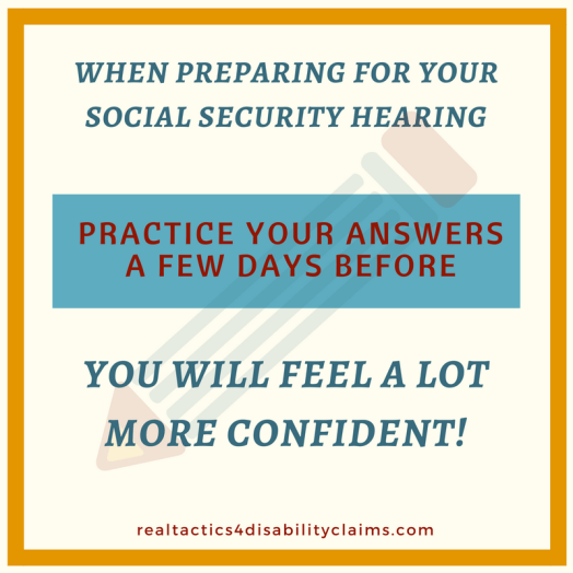 practice your social security hearing How to Prepare for your Social Security Disability hearing