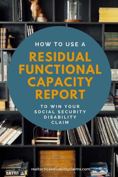 Residual Functional Capacity Report RT4