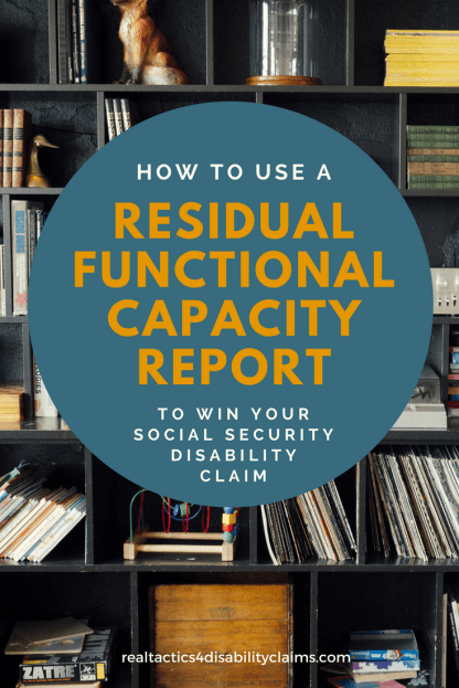 Residual Functional Capacity Report RT4