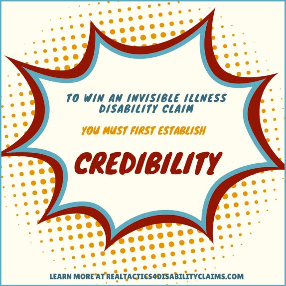 credibility invisible illness