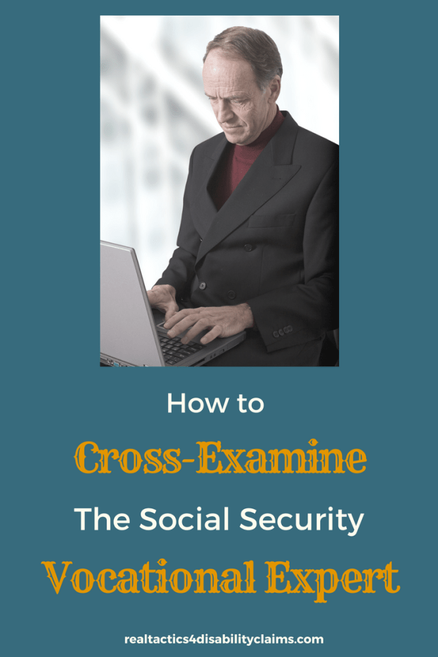 You want to go solo at your Social Security Disability Hearing. But do you know what it takes to cross-examine the Social Security Vocational Expert? Learn tips and tricks to prepare for your disability hearing and have a better chance at winning your claim with the proper tools just like the pros.