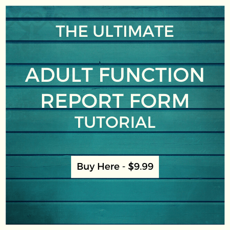 Adult Function Report