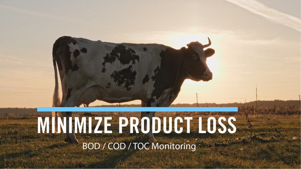 IDENTIFY AND REDUCE PRODUCT LOSS USING REAL-TIME ORGANICS MONITORING