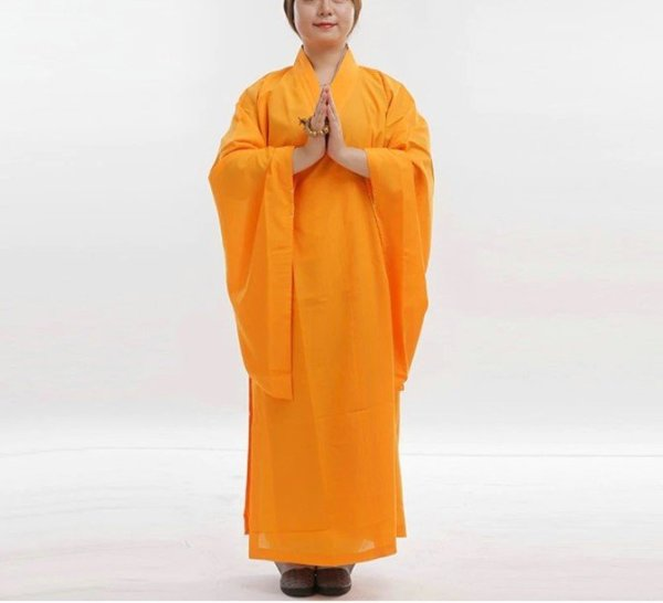 Cotton and Linen Buddhist Robe 1
