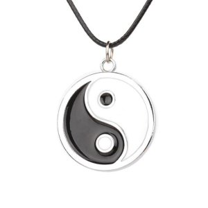 Simple Style Ying Yang Necklace 6