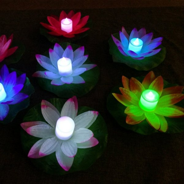 Lotus Shaped Waterproof LED Light 1