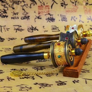 Traditional Buddhist Prayer Wheel 4