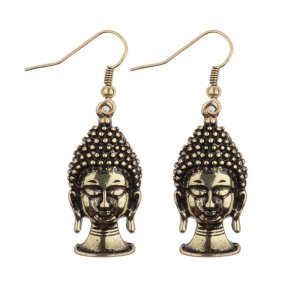 Women's Buddha Drop Earrings 9