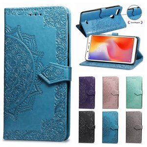Mandala Engraving Flip Case for Xiaomi Redmi 1