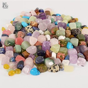 Assorted Tumbled Chips Stone Crushed Crystal Quartz Pieces Irregular Shaped Stones 3