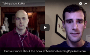 Rob and Brandon talk about using Kafka for machine learning oipelines