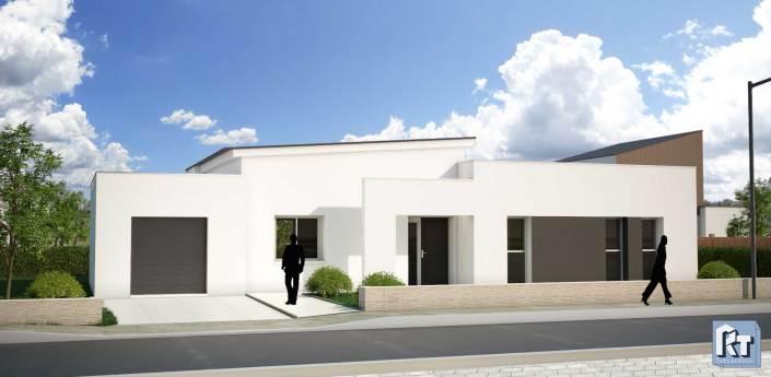 Image 3D Maison individuelle Angers