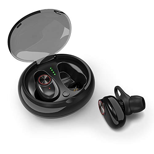 Bluetooth 5 0 Earbuds ICETEK True Wireless Headphone Stereo 3D Sound in Ear  Headset Charging Case Sports Run Sweat Proof Noise Cancelling Microphone