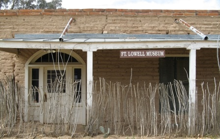 Fort Lowell museum is open 10-4 Friday and Saturday