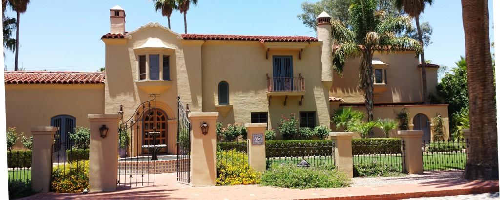 House in historic El Encanto Estates neighborhood Tucson