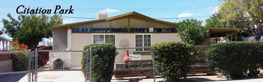 Citation Park a Lusk neighborhood in central Tucson