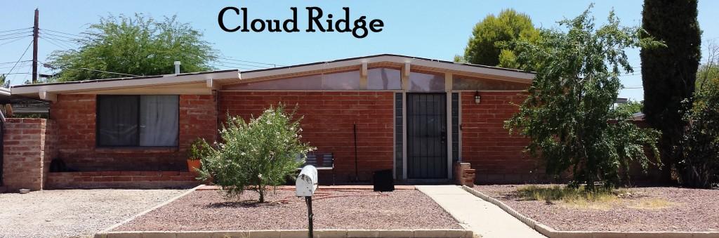 Cloud Ridge a Lusk neighborhood in East Tucson