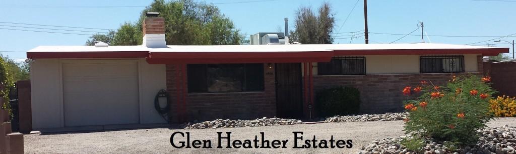 Glen Heather Estates a Lusk neighborhood in east Tucson