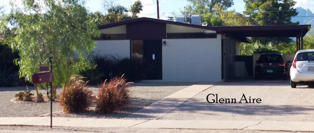 Glenn Aire home in Tucson's midtown area