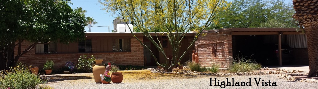 Highland Vista a Lusk neighborhood in midtown Tucson
