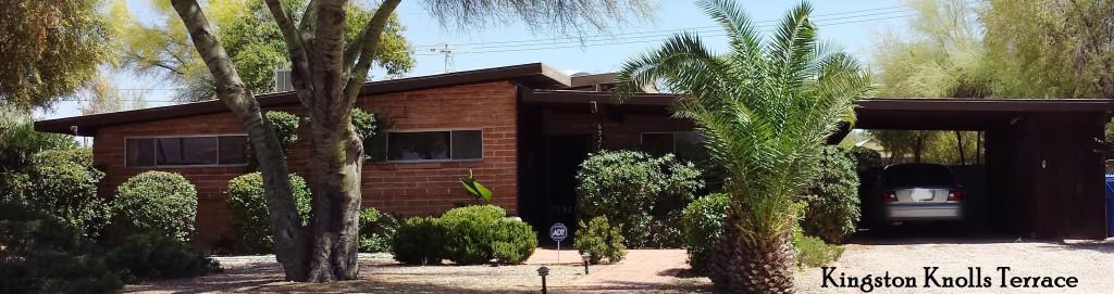 Kingston Knolls Terrace - a Lusk neighborhood in East Tucson