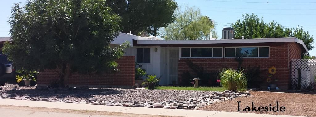 Lakeside - a Lusk neighborhood in Southeast Tucson