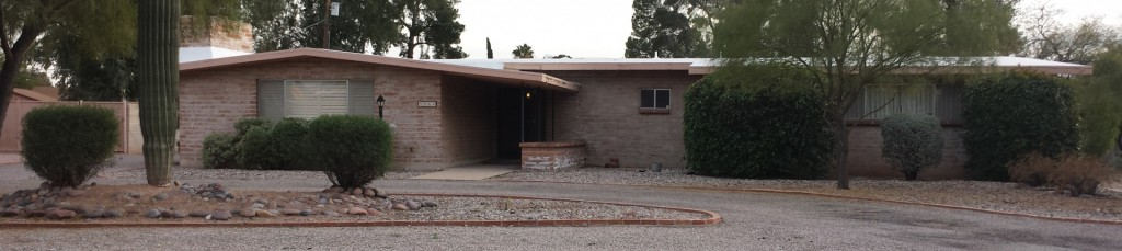 Example of home in Wilshire Heights neighborhood in Tucson
