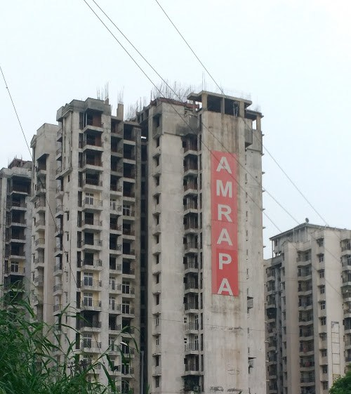 Stalled project of Amrapali in Noida