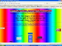 bad website geocities agentpress