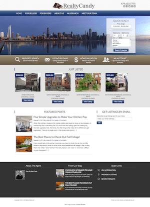 Chicago IDX Theme Installed for IDX Broker and AgentPress ...