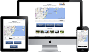Map IDX Broker Theme WordPress real estate