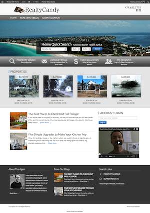 Tampa IDX Real Estate Theme for WordPress with IDX Broker Installed ...