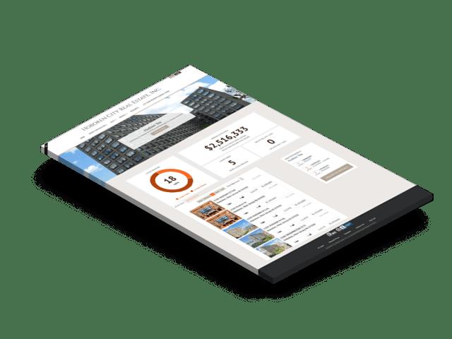 Building pages for Hoboken WordPress Website