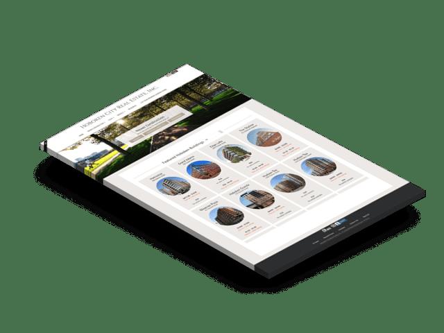 Newer construction page design using WordPress