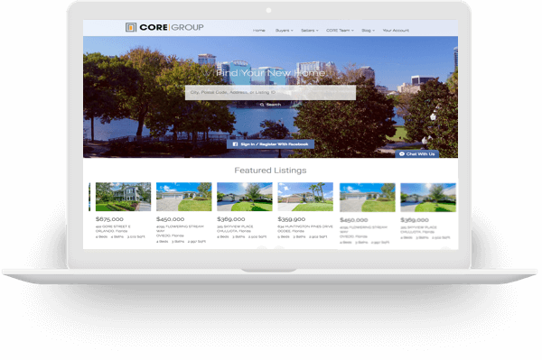 Florida real estate websites CoreGroup