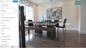 Smart Home free real estate theme download
