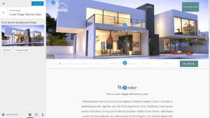 Smart Home free real estate theme download customizer features