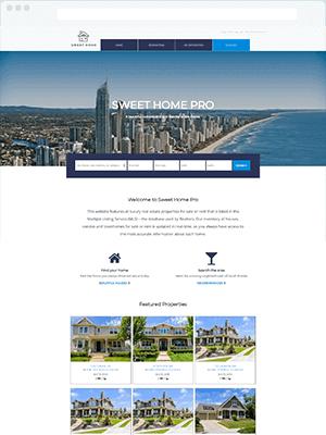 Sweet Home Pro WordPress IDX Real Estate Theme Website Setup
