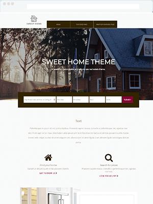 Sweet Home Pro Real Estate WordPress and IDX Broker Theme Full Website Setup